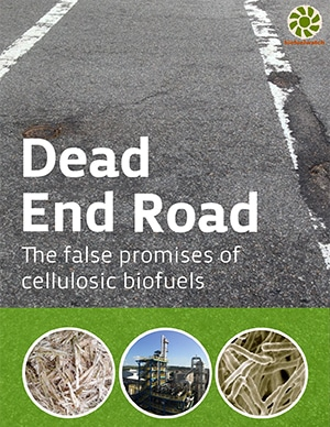 Dead End Road: The false promises of cellulosic biofuels