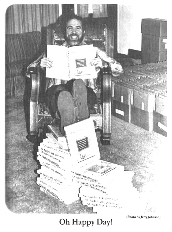 Kent Whealy with completed Garden Seed Inventory