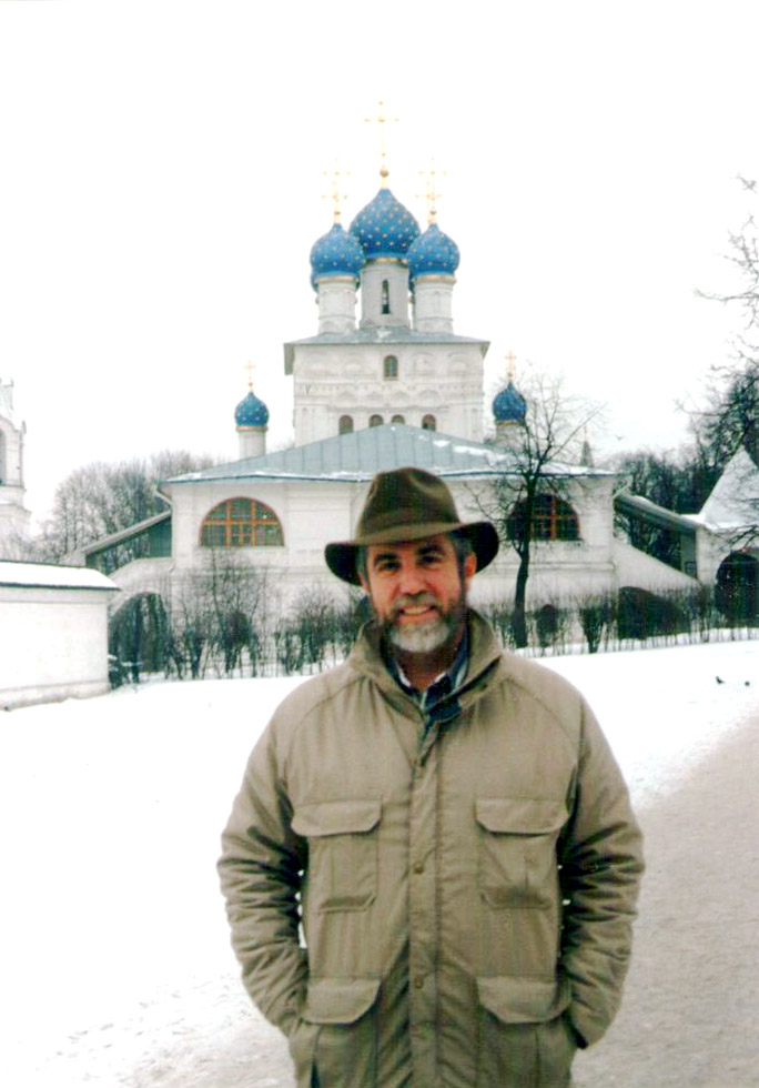 Kent Whealy in Moscow
