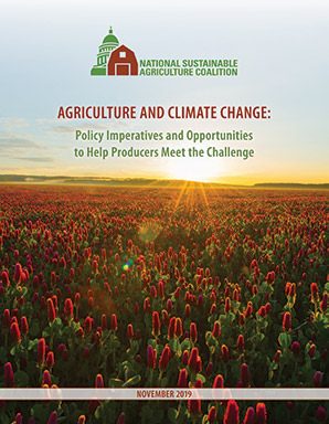 AGRICULTURE AND CLIMATE CHANGE: Policy Imperatives and Opportunities to Help Producers Meet the Challenge